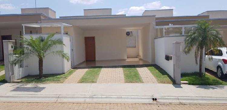 Casa térrea condomínio vilagio vista real-paulínia
