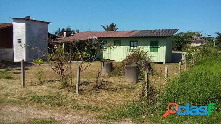 Casa de madeira com 105,46 m² - itapema do norte gleba ii