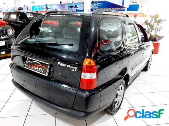 Fiat palio weekend elx 1.0 mpi fire 16v preto 2001 1.0 gasolina