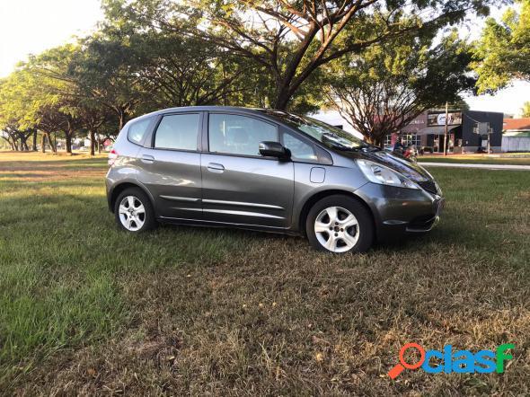 Honda fit lx 1.4 1.4 flex 8v16v 5p aut. cinza 2011 1.4 flex