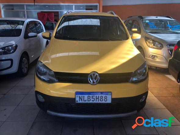 Volkswagen crossfox 1.6 mi total flex 8v 5p amarelo 2011 1.6 flex