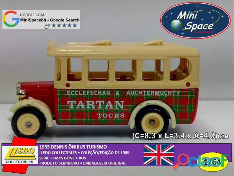 Lledo 1935 Dennis Ônibus Turismo Tartan 1/64