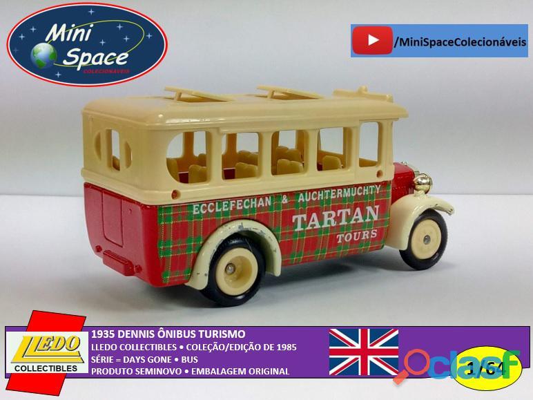 Lledo 1935 Dennis Ônibus Turismo Tartan 1/64 1