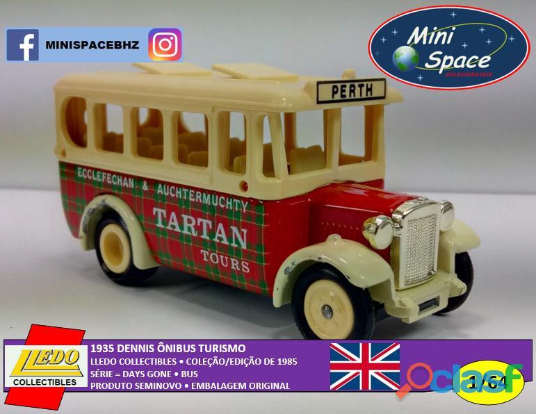 Lledo 1935 Dennis Ônibus Turismo Tartan 1/64 2