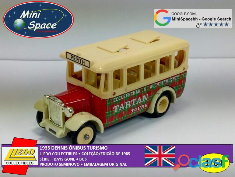 Lledo 1935 Dennis Ônibus Turismo Tartan 1/64 3