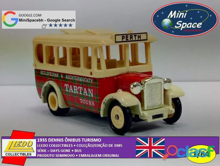 Lledo 1935 Dennis Ônibus Turismo Tartan 1/64 6