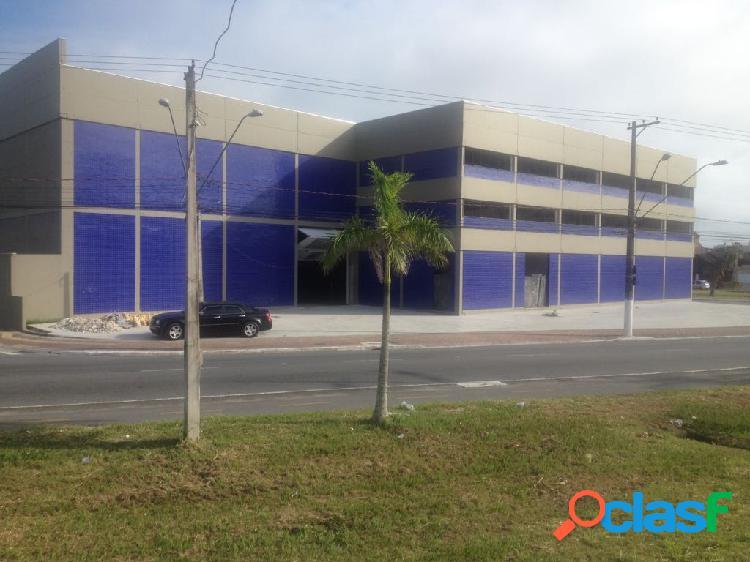 PRAIA GRANDE - LOCAÇÃO - ARMAZÉM - 5500 m² COM 11m DE ALTURA 1