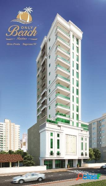 Apartamento c/ 4 suítes - meia praia itapema/sc
