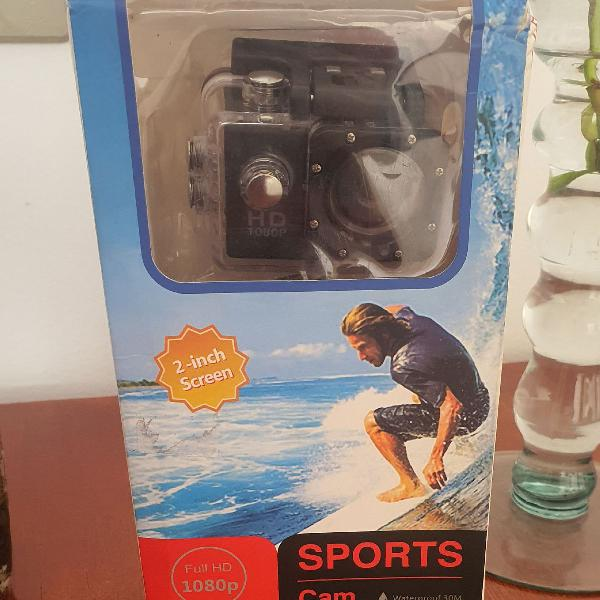 Câmera action go cam pro ultra 1080p full hd sport wifi hd