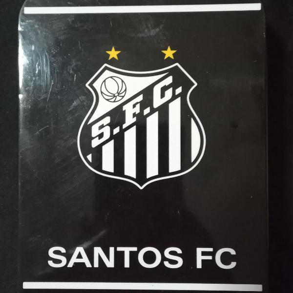 Estojo personalizado do santos futebol clube