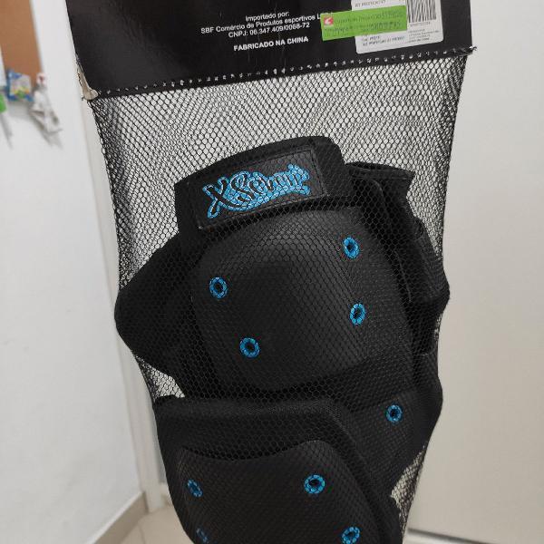 Kit proteção completo com capacete