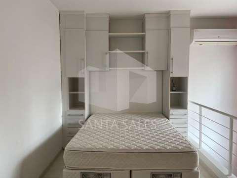 Lindo apartamento mobiliado com 1 dormitório, sala,