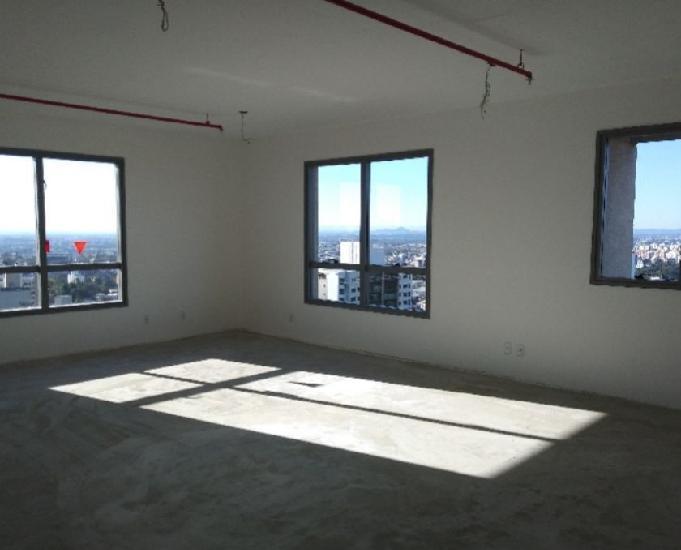 Mc269 sala comercial para locação, 58,00 m² três
