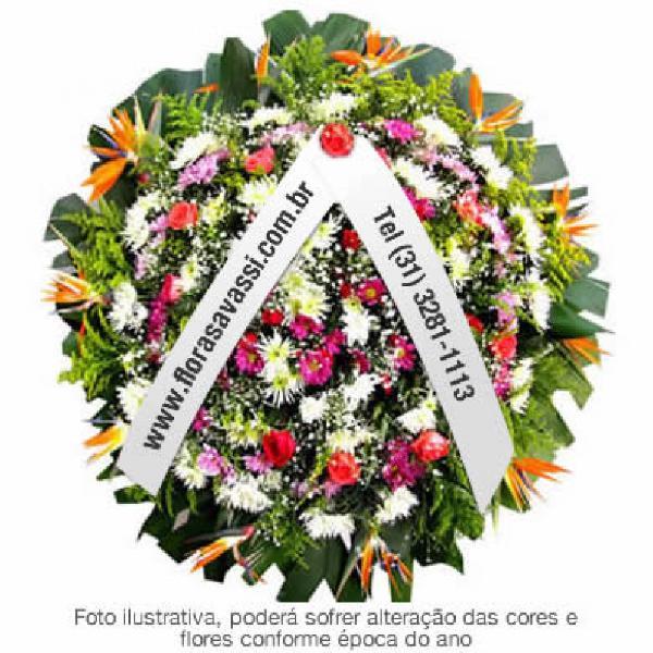 Minas gerais coroa de flores floricultura entrega coroas de