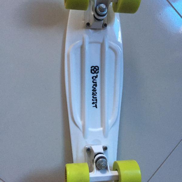 Skate mini cruiser Bob Burnquist branco/verde
