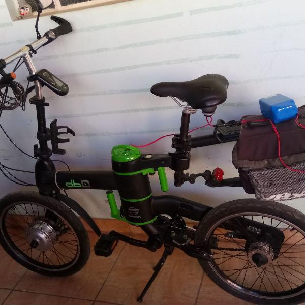 Bicicleta elétrica dafra db 0