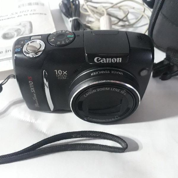 Câmera canon powershot sx 110 ls