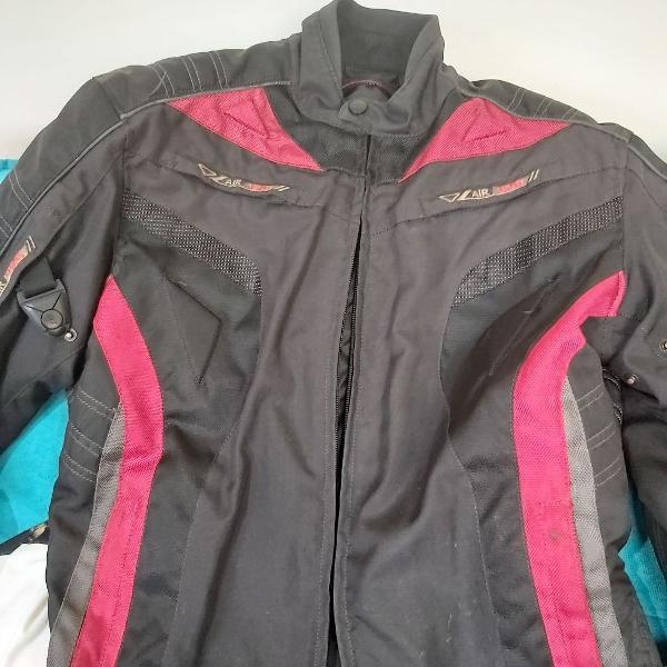 Jaqueta de motociclista com forro de inverno