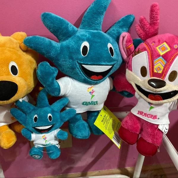 Mascotes jogos pan americanos
