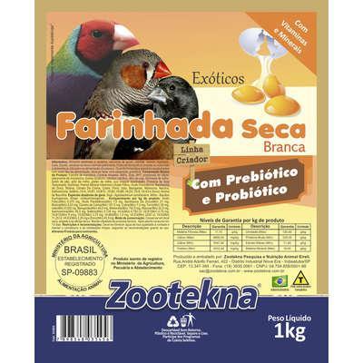 Farinhada zootekna premium seca premium fso-50 branca