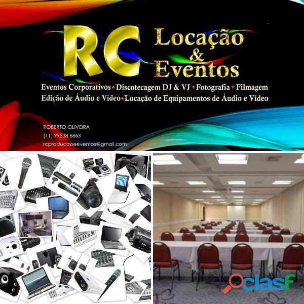 RC LOCAÇÃO E EVENTOS