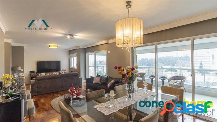 Apartamento perto do clube palmeiras, 176 m², 3 suites, 4 vagas! - 16290