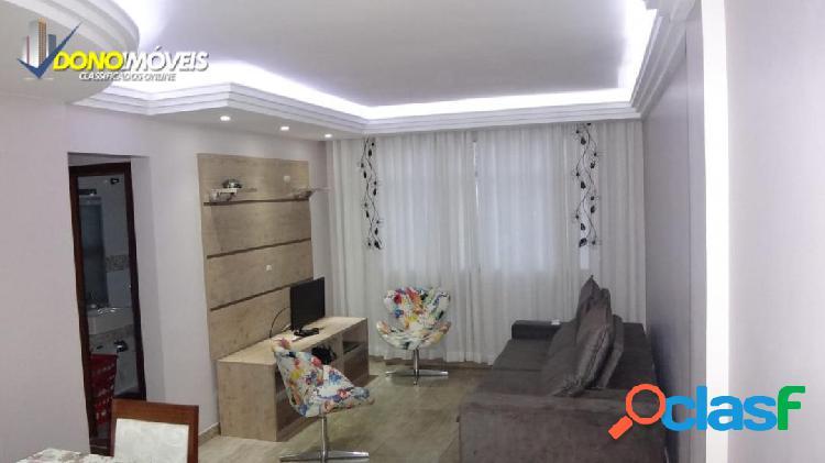 Lindo apto 88 m² mobiliado centro sbc