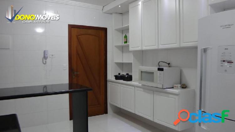 Lindo apto 88 m² MOBILIADO centro SBC 3