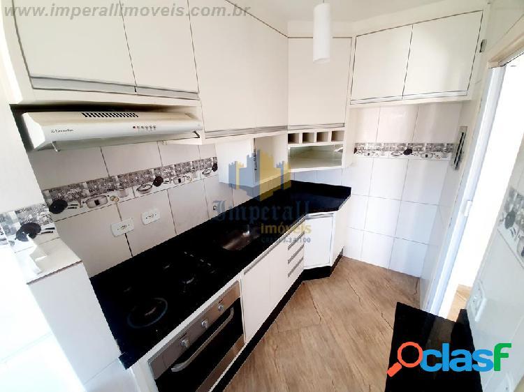 Apartamento residencial mantiqueira 48 m² bairro galo branco sjcampos sp