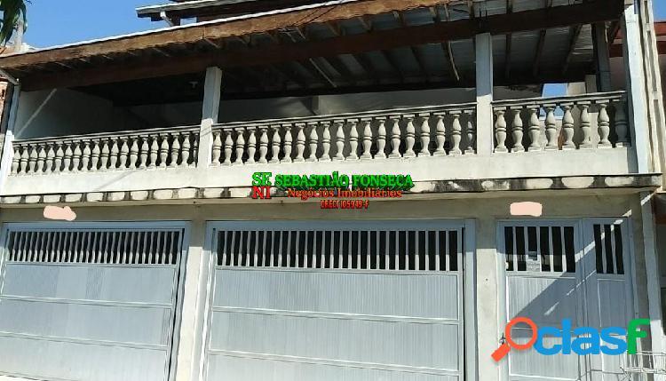 Casa sobrado 05 dormitórios com edícula no residencial flamboyant em sjc