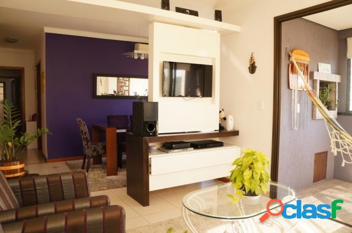Apartamento 2 dormitórios, 1 suíte, vaga dupla.passo d areia