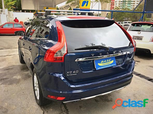 Volvo xc 60 2.0 t5 dynamic fwd turbo azul 2015 2.0 t gasolina
