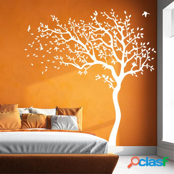 Super big tree nursery wall sticker crianças baby bedroom art mural vinyl decal 2m