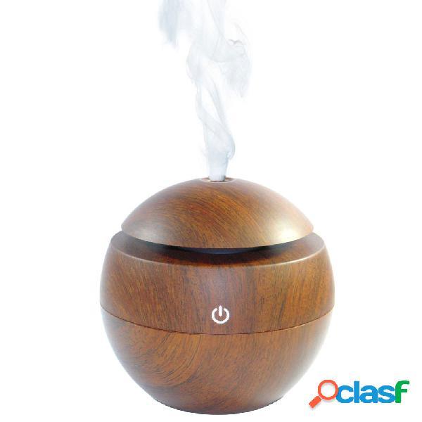 Usb usb ultrasonic aroma humidifier air difusor de óleo essencial com mudança de cor led lâmpada