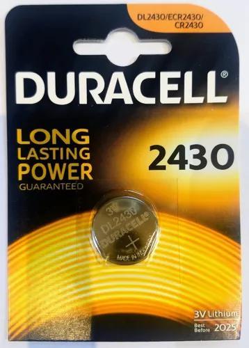 Bateria duracell cr2430 3v - importada original