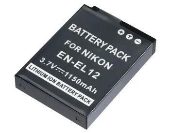 Bateria en-el12 p nikon coolpix s31 s70 s610 s620 s630 s640