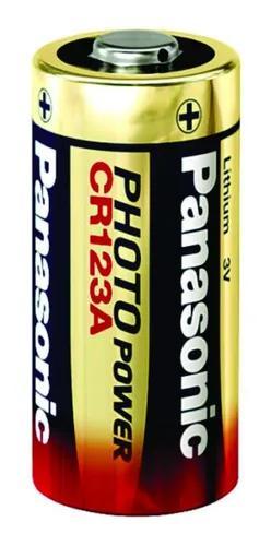 Bateria panasonic lithium cr123a cameras digital