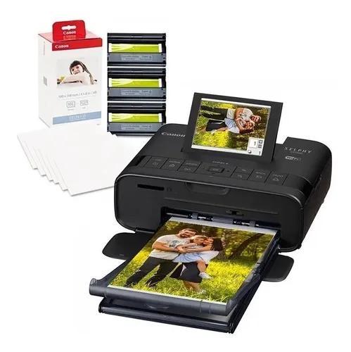 Canon selphy cp1300 impressora fotográfica + papel 108