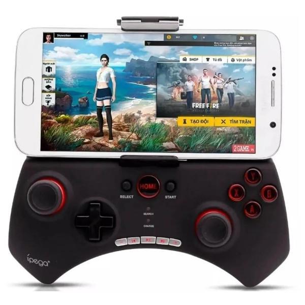 Controle joystick ipega 9025 bluetooth cel android gamer x