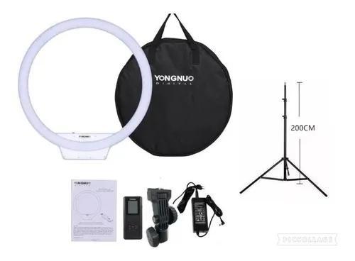 Iluminador circular yn 608 pro led video light +