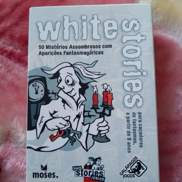 Jogo de cartas white stories