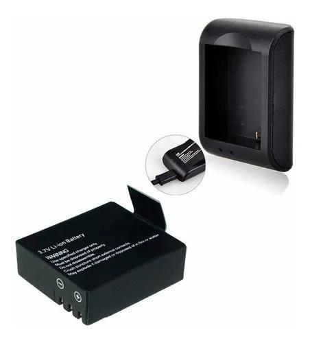 Kit 1 bateria 1 recarregador p/ sports cam x4000 e similares