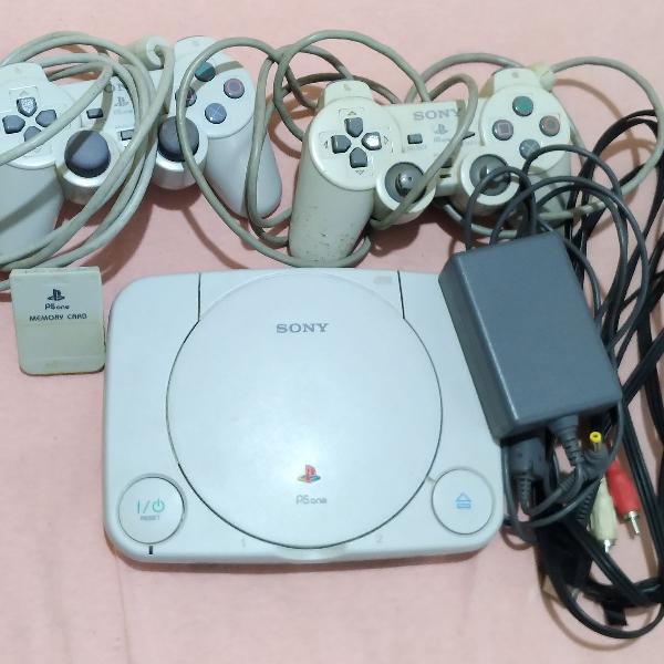 Playstation 1 completo com jogos