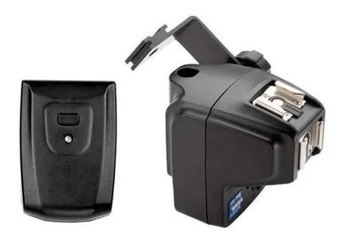 Rádio flash godox mt-16 trigger com suporte guarda-chuva e