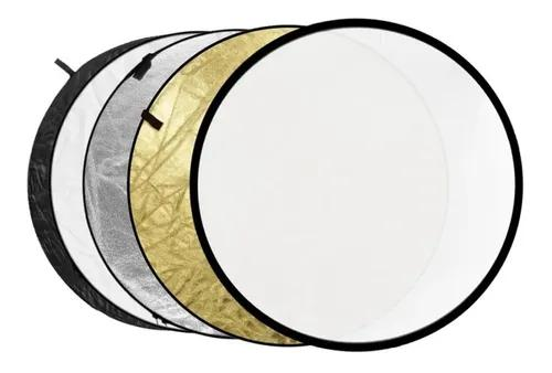 Rebatedor circular 5x1 dobrável diâmetro 110cm greika