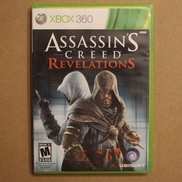 Assassin's creed revelations - jogo xbox 360