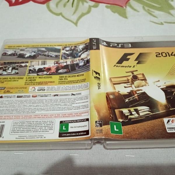 F1 2014 dublado usado play3 120r#