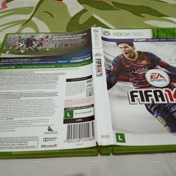 Fifa 14 fifa 2014 dublado original xbox360 x12#b