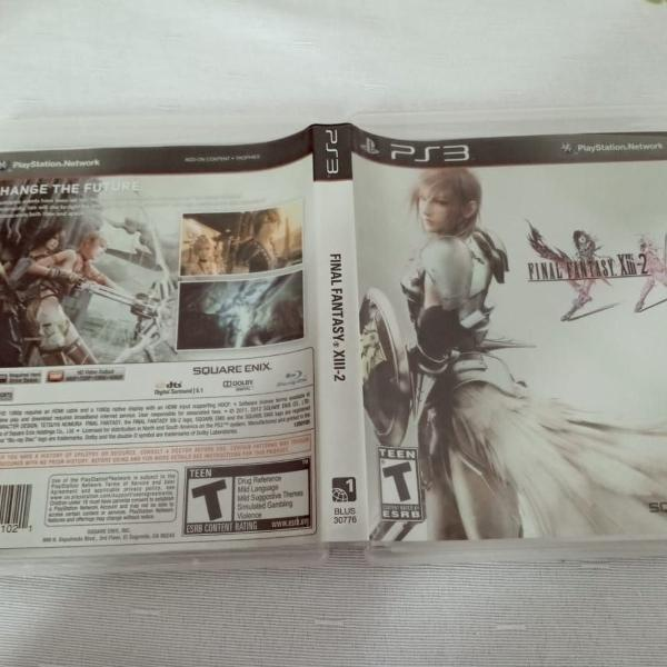 Games jogos final fantasy xiii-2 13-3 ps3 play3 13#j
