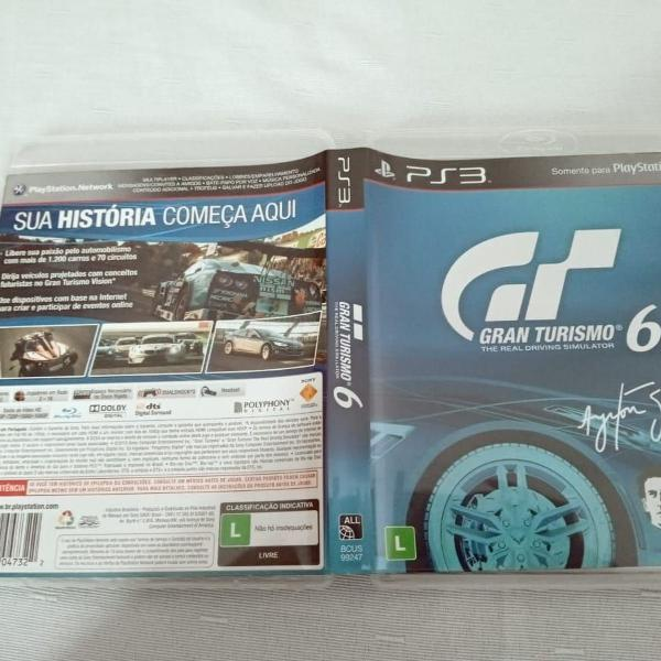Games jogos gran turismo 6 legendado ps3 play3 13#j